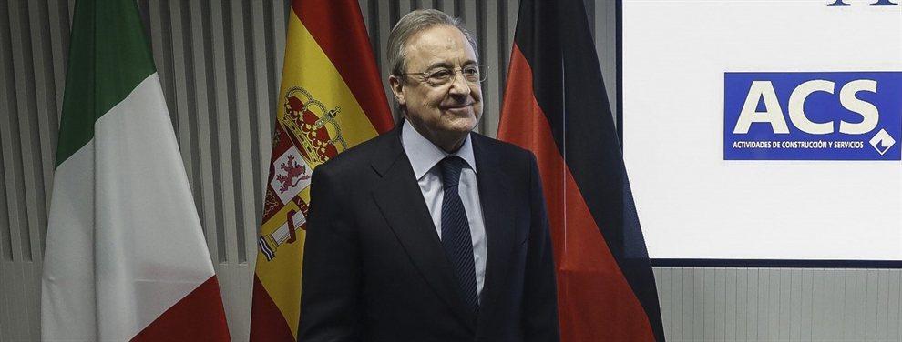 Florentino Pérez está intentando dar una respuesta contundente a todos los problemas que le han aparecido este año para que no acaben pasando de nuevo la temporada que viene.