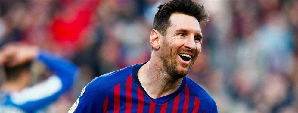 La jugarreta de Messi: el crack que pide es el futbolista más deseado por Florentino Pérez