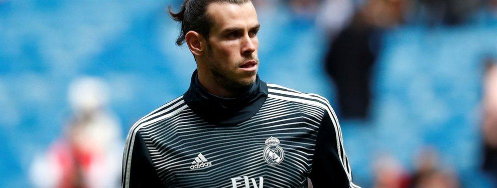 El fichaje galáctico del Real Madrid que no quiere que Bale se vaya (Florentino Pérez se lo piensa)