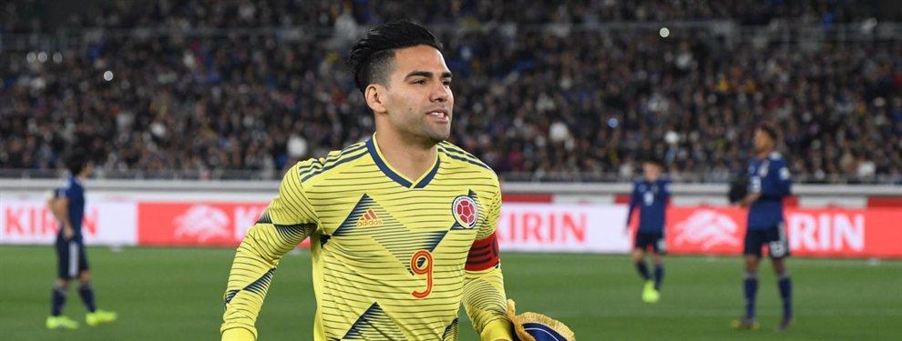 Radamel Falcao apunta de nuevo a la Liga Española (y esta vez se bajará el sueldo)