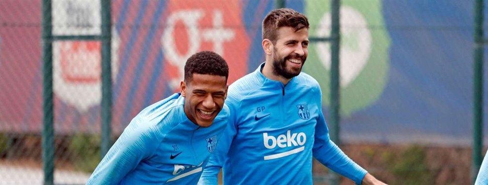 Piqué alucina: el joven crack del Barça que creen que va a ser el mejor del mundo en su posición
