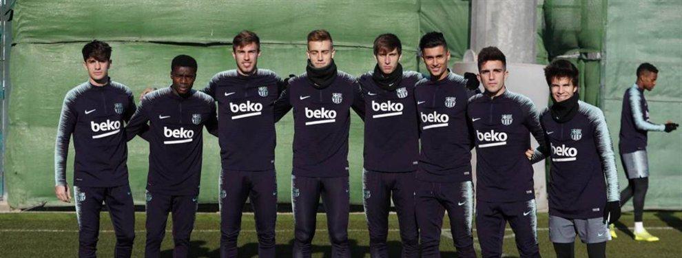 En invierno la dirigencia se enfocó en la defensa central y dejó el flanco izquierdo desguarnecido en caso de lesión o fatiga del titular en el puesto, el catalán Jordi Alba..