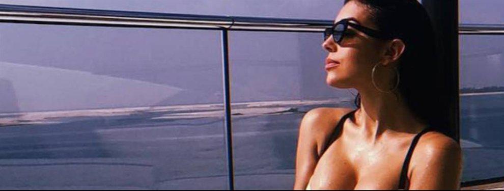 Georgina Rodríguez le ha declarado la guerra a Shakira como novia de futbolista con más likes en redes sociales. La modelo argentina quiere demostrar que ahora es ella la reina de las wags.