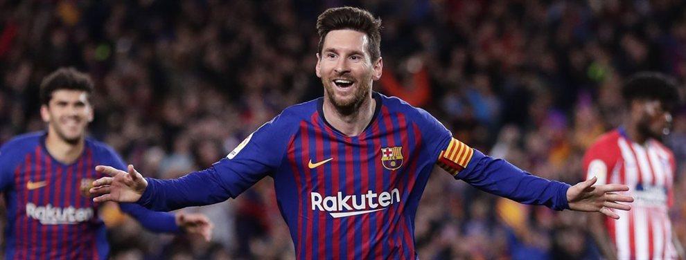 Los cuatro galácticos que el Barça ofrece a Messi para liquidar al nuevo Real Madrid de Zidane