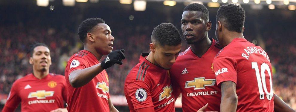 El Manchester United torpedea una operación secreta de Florentino Pérez para el Real Madrid