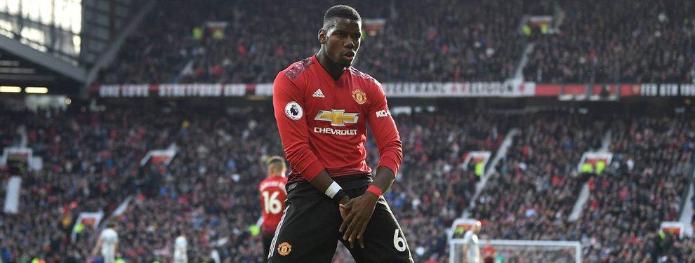 El Manchester United sueña con retener a Paul Pogba, a sabiendas de lo complicado que será viendo la presión que está dispuesto a ejercer el Real Madrid y el propio jugador.