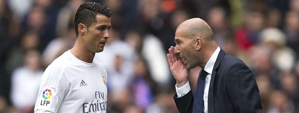 Los tres fichajes de Zidane (y hay sorpresa) para sustituir los goles de Cristiano en el Real Madrid