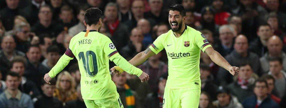 Traición a Messi. La bomba que llega a Luis Suárez y Piqué: el crack del Barça que se va al Madrid