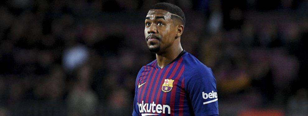 El futuro de Malcom no está en el Barça. El brasileño, que no ha cuajado en su primera temporada, vino a comerse el Mundo. Y se ha acabado comiendo el banquillo y la grada.