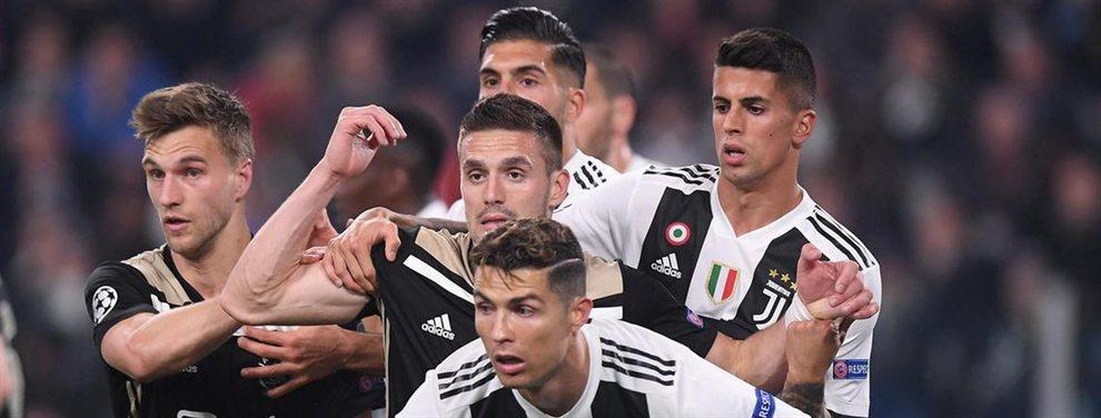 Tremendo varapalo para Cristiano Ronaldo y para la Juventus de Turín, que tenían grandes esperanzas depositadas en esta Champions League, que soñaban con levantar en el Wanda Metropolitano.