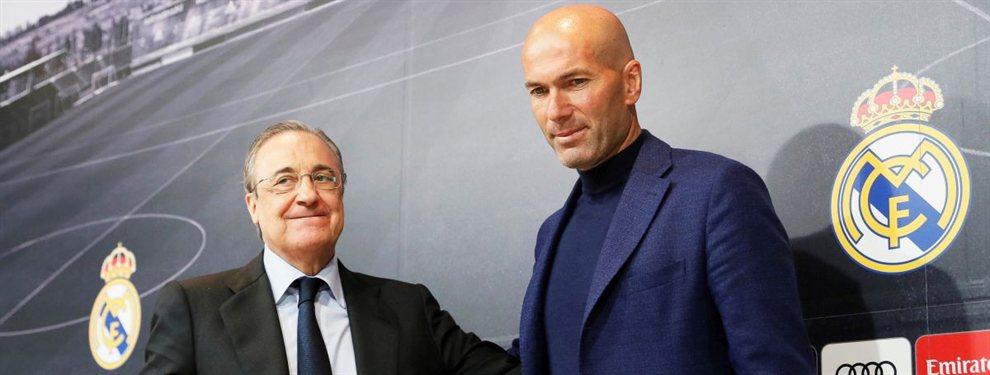 90 millones para el Real Madrid: el intocable de Zidane que pide su venta a Florentino Pérez