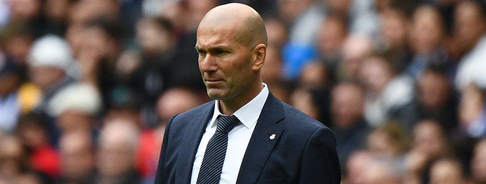 La última 'bronca' en el vestuario del Real Madrid que enciende las alarmas (y llega a Zidane)