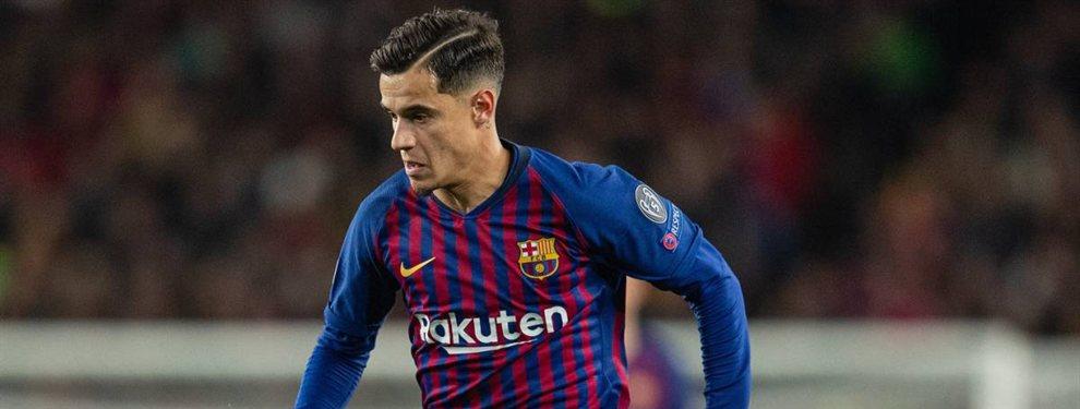 La oferta a Coutinho de la que todo el mundo habla en el Barça (y el Real Madrid está en el asunto)