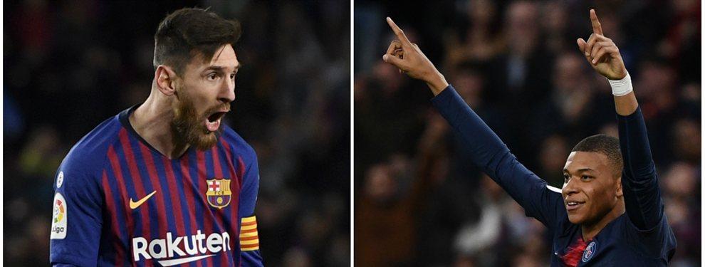 Kylian Mbappé es motivo de preocupación en el entorno de Messi. No por su futuro, que, de momento, estará en el PSG, si no por la Bota de Oro, galardón que premia al máximo goleador de todas las ligas europeas.