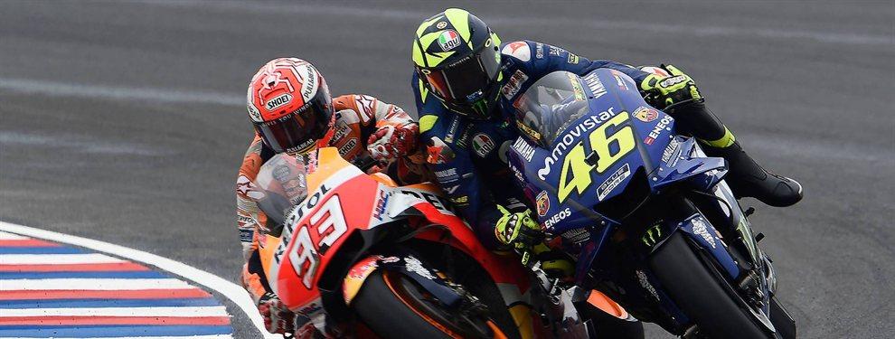 Valentino Rossi quiere más. El piloto de Yamaha echa la vista a sus rivales, Dovizioso, en Ducati, y Marc Márquez, en Honda, y avisa a los suyos: hay que mejorar.