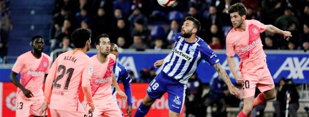 Partido soporífero en Mendizorroza, con un Barça dormido, puesto que había poco o nada en juego, y debido a las rotaciones de Valverde, que dejó a Lenglet, Messi, Arthur y Jordi Alba en el banquillo.