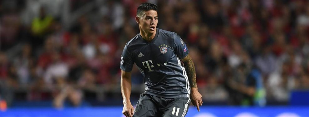 Se acabaron las discusiones. James Rodríguez regresará al Real Madrid este verano para luego ser traspasado a, con toda seguridad, algún equipo de la Premier League.
