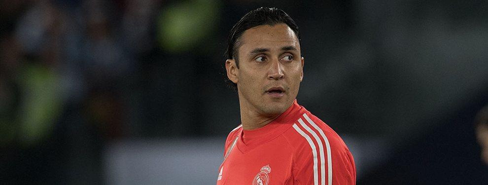 Keylor Navas tiene una oferta con morbo para salir del Real Madrid
