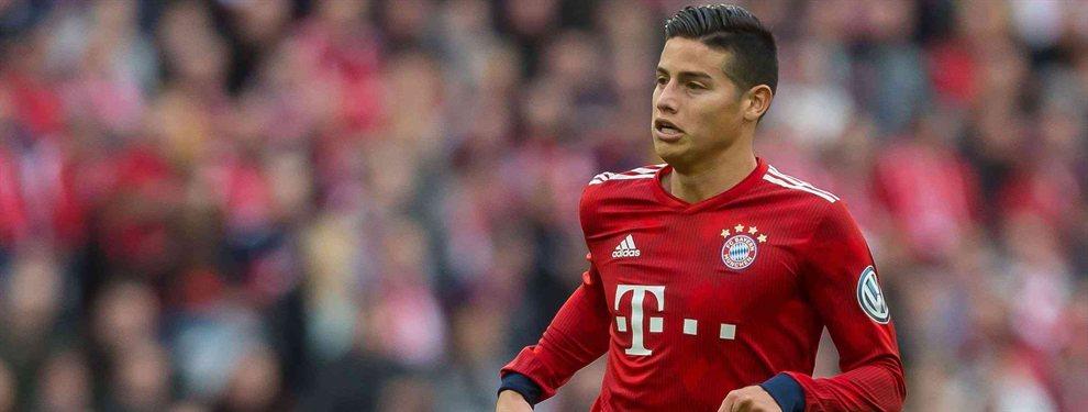 La vuelta de James Rodríguez al Real Madrid es más que complicada, si bien el primer paso ya está dado: el Bayern de Múnich ha comunicado que no ejercerá la opción de compra que tienen.