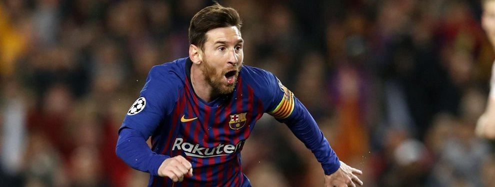 Leo Messi cree que el Barça aún tiene mucho margen de mejora en el once titular y en la plantilla de cara a los próximos años, los últimos del argentino como profesional.