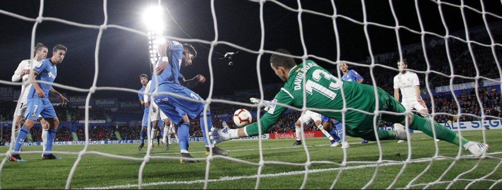 Partido sin mucha historia en el Coliseum Alfonso Pérez, más allá de un Getafe que pelea por colarse en la próxima edición de la Champions League y un Real Madrid que lucha por no ser humillado más aún.