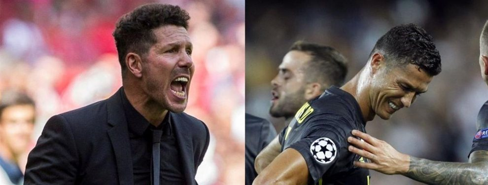 La Juventus de Cristiano Ronaldo se lanza a por un crack del Atlético de Madrid de Simeone