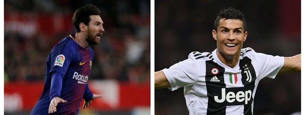 Cristiano Ronaldo acepta la llegada de un amigo de Messi (y no es un jugador) a la Juventus