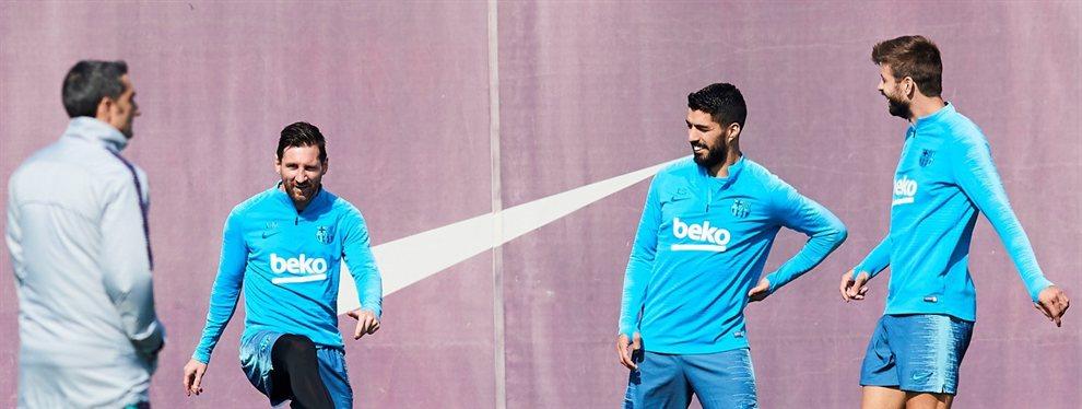 La Premier le espera: Un crack del Barça anuncia a Messi y Piqué que se va (y Coutinho se queda)