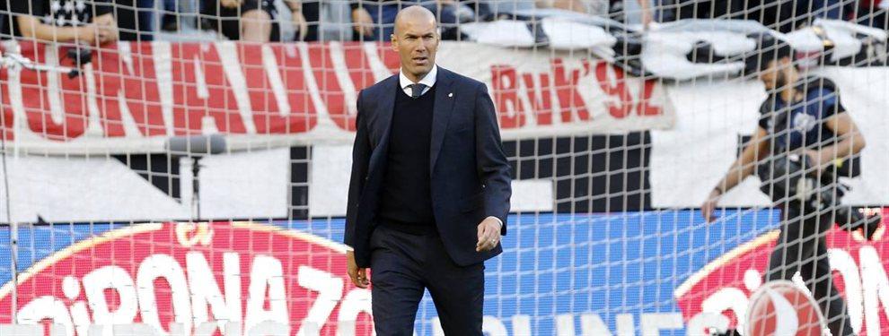 Zidane prohíbe un fichaje (y Florentino Pérez lo tenía cerrado para el Real Madrid desde hace meses)