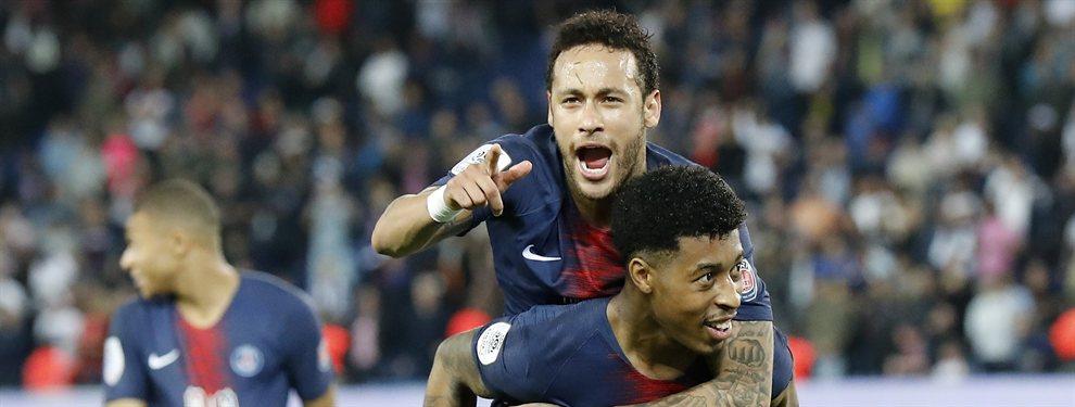 El astro del PSG, pretendido por el Real Madrid de Florentino Pérez, se reúne en secreto con el Manchester City de Pep Guardiola