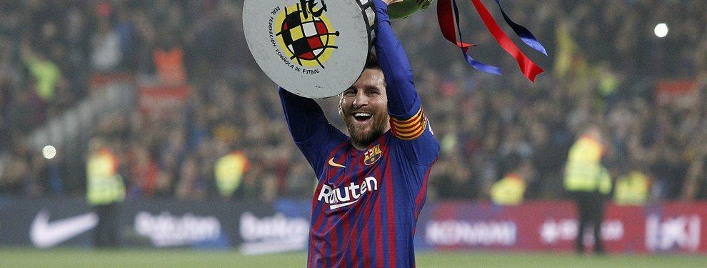 Se lo empaquetan al Barça (y Messi lo echa a patadas)