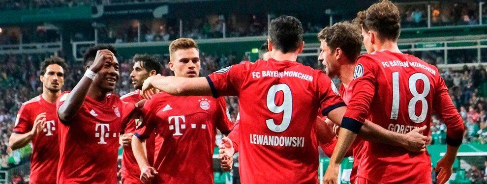 El Bayern de Múnich se ha retirado de la puja por Hakim Ziyech, dejando vía libre al Real Madrid de Florentino Pérez para reclutarle
