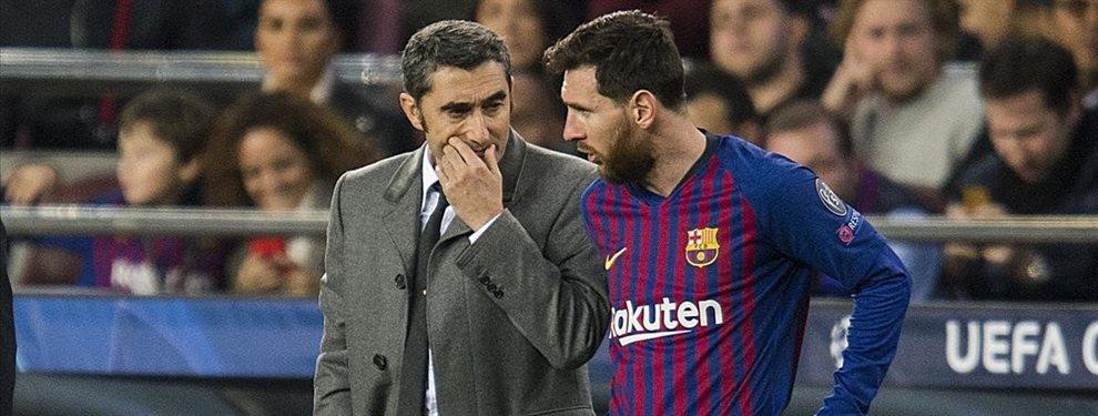 Messi lo echa del Barça. Y Valverde calla: el último lío