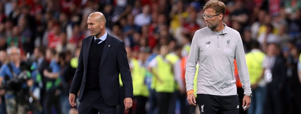 El trueque de Zidane con Jürgen Klopp que calienta el Barça-Liverpool