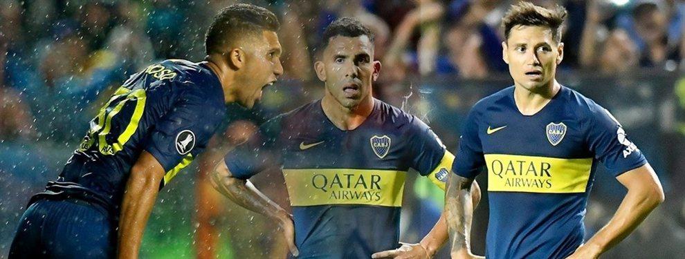 Ni uno ni otro: Tévez, Zárate y Bebelo Reynoso serían titulares en la final de la Supercopa Argentina.
