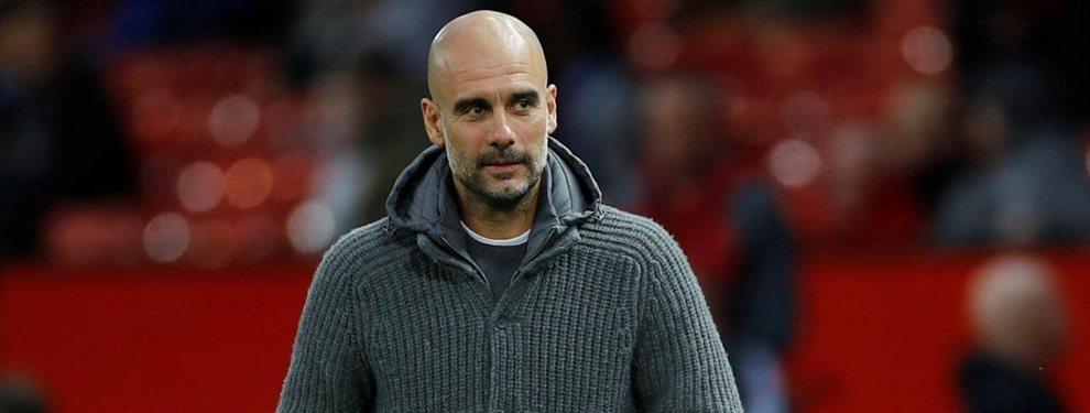 Nicolás Otamendi quiere salir del Manchester City de Pep Guardiola para volver a España, donde tiene ofertas de Sevilla, Valencia y Atlético de Madrid