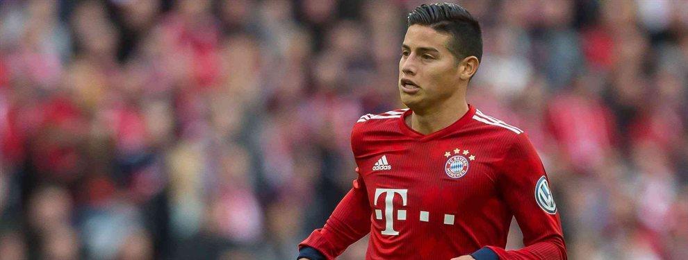 James Rodríguez puede seguir en el Bayern de Múnich si Erik Ten Hag, entrenador del Ajax, releva a Kovac