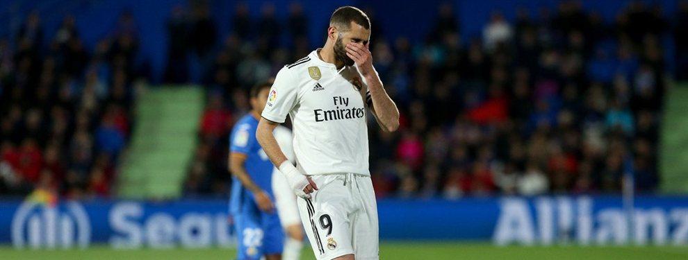 El Real Madrid ha recibido una oferta de locura del PSG por Karim Benzema, que Florentino Pérez estudia seriamente