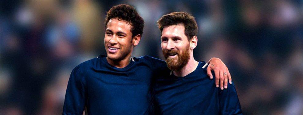 Neymar le dice a Messi dónde jugará (y no es en el PSG: las cinco bombas)