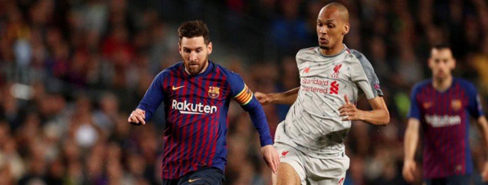 El Barça superó al Liverpool y puso pie y medio en la final de la Champions League, pero Messi no acabó del todo contento
