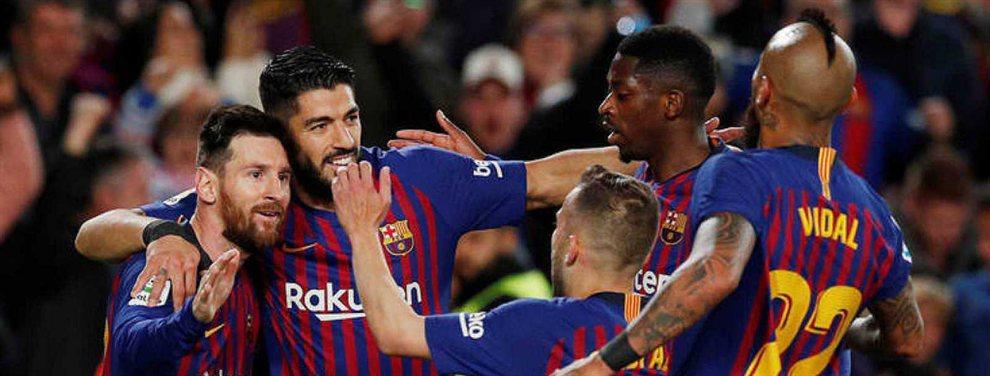Messi, Luis Suárez y Piqué señalan a tres piezas débiles del Barça: Valverde, Sergi Roberto y Dembélé