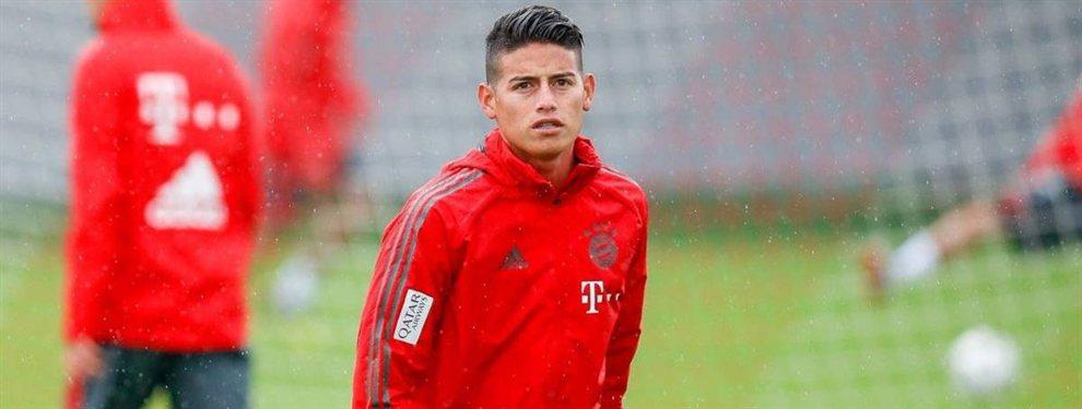 El Bayern de Múnich de James Rodríguez pretende robarle a Luka Jovic al Real Madrid
