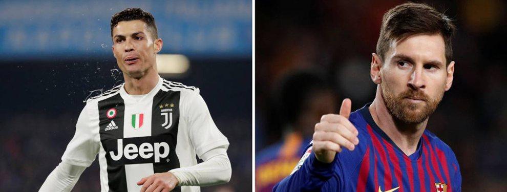 Cristiano Ronaldo responde a Messi: 100 millones para quitárselo al Barça