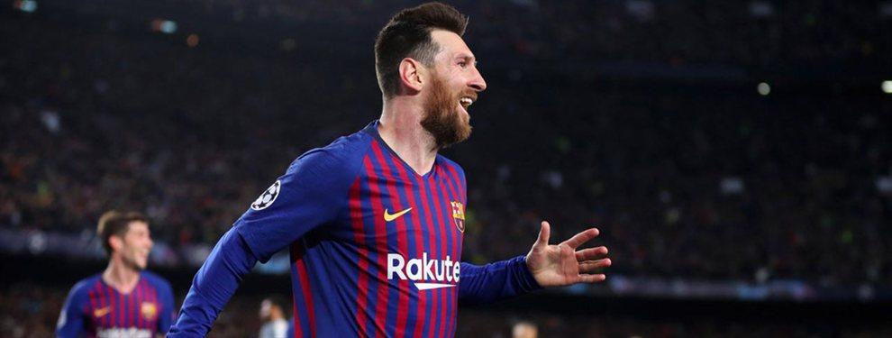 Niega a Zidane y a Florentino Pérez: quiere jugar en el Barça de Messi
