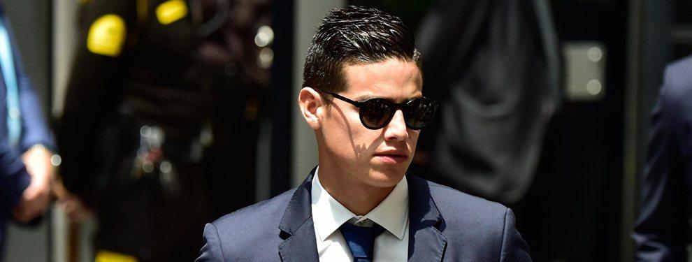 James Rodríguez no jugará en el Real Madrid ni en el Bayern de Múnich. Así se lo ha comunicado Florentino Pérez.