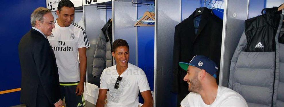 Lo que Florentino Pérez calla sobre tres cracks del Real Madrid