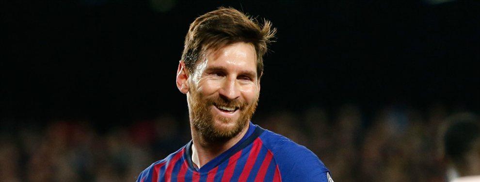 Los fichajes de Messi: un portero, un defensa y un delantero