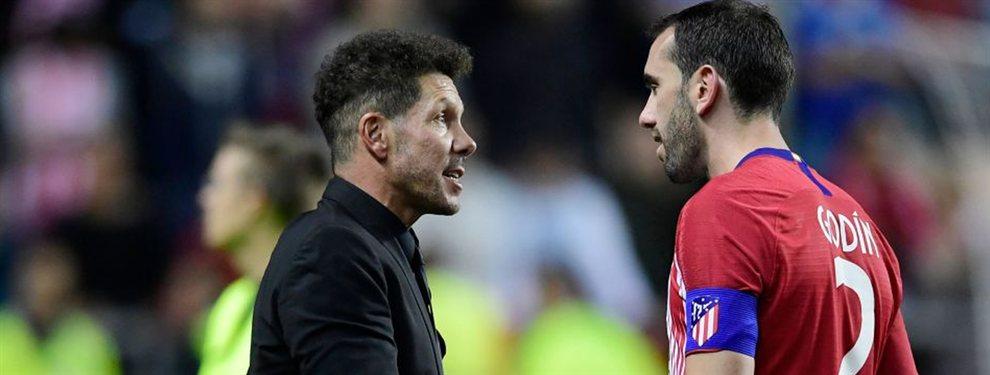 El tapado que el Atlético de Simeone tiene en su agenda y Zidane lo pidió