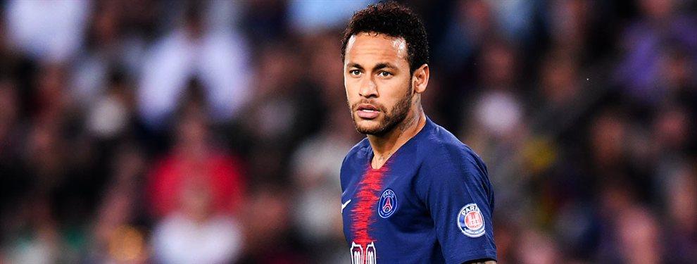 Neymar tiene un plan de fuga del PSG (y no lo lleva al Real Madrid)