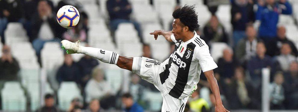 La Juventus de Juan Cuadrado se entromete en un objetivo del Real Madrid